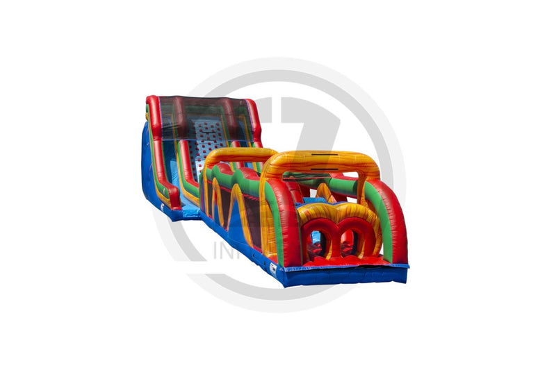 70 Ft Xtreme Run Obstacle Course-I1138-EZ Inflatables