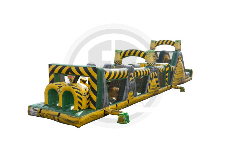 72 Ft Biohazard Blast Obstacle Course-I1102-EZ Inflatables