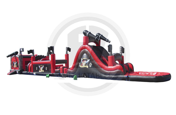 84 Ft Pirate Obstacle Course-I1002-EZ Inflatables (1360788389930)