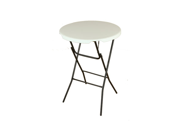 Plastic Cocktail Table White-BB2234