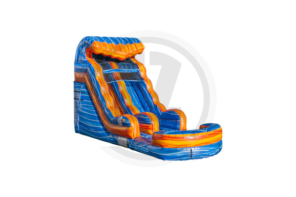 15 Ft Melting Ice Water Slide SL-WS1388