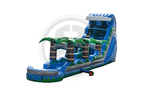 18 Ft Blue Crush Tsunami + Slip & Slide-WS1411