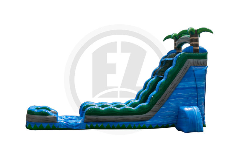 22 Ft Blue Crush Water Slide-WS342-IP