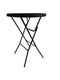 Plastic Cocktail Table Black-BB2235