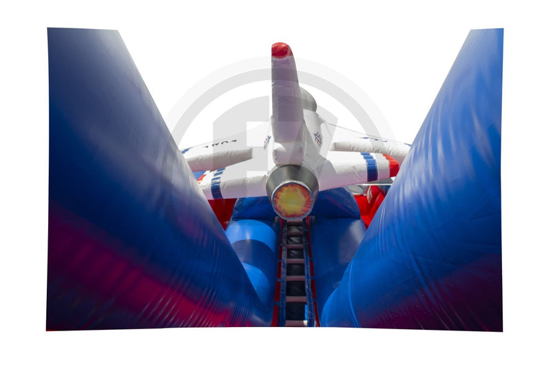 Air Force Dual Lane Slide-S1028-EZ Inflatables