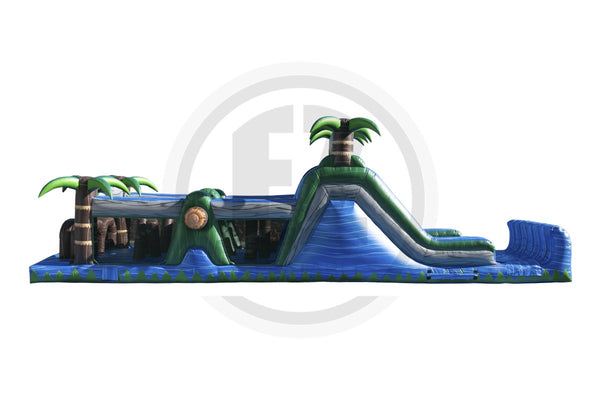 Blue Crush Wet/Dry Obstacle Course-I1037-EZ Inflatables (1360788160554)