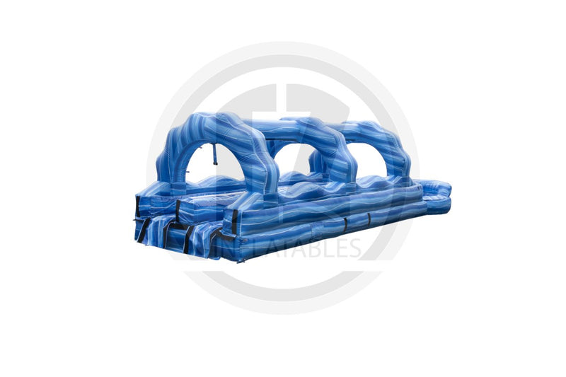 Deep Blue Sea Dual Lane Slip & Slide-SS1083-EZ Inflatables