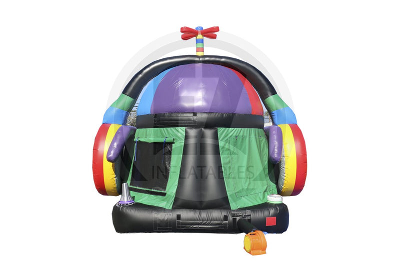 DJ Bounce Party-B1028-EZ Inflatables (1384702345258)