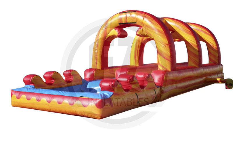 Fire Marble Slip & Slide-SS172-EZ Inflatables (1351353532458)