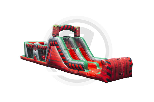 Fuego Wet/Dry Obstacle Course-I1050-EZ Inflatables (1360787931178)