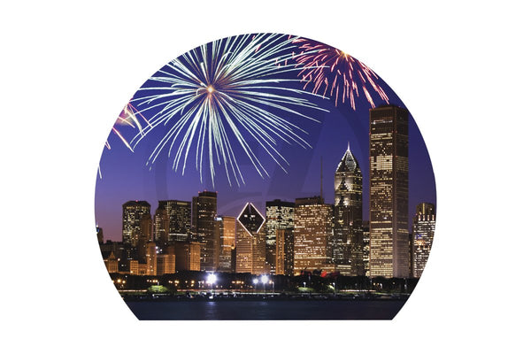 Globe New Year Fireworks Banner-IB150-EZ Inflatables