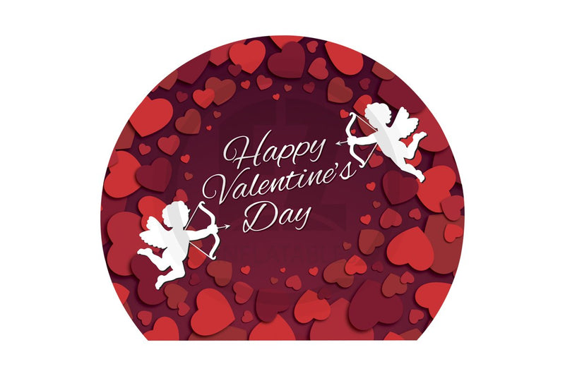 Globe Valentines Day Banner-IB149-EZ Inflatables