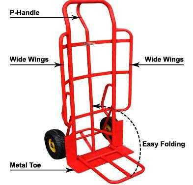 Heavy Duty EZ Handler Dolly Pack 4-BB1976