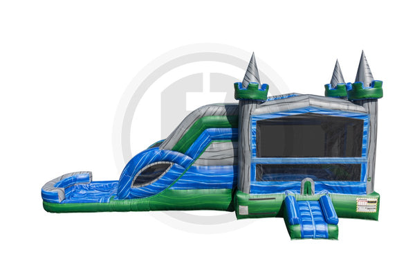 Lucky Emerald Castle Combo-C1135-EZ Inflatables
