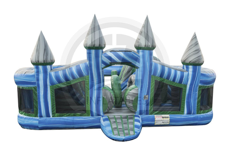 Magic Blue Castle Toddler-I1078-EZ Inflatables (1441223049258)