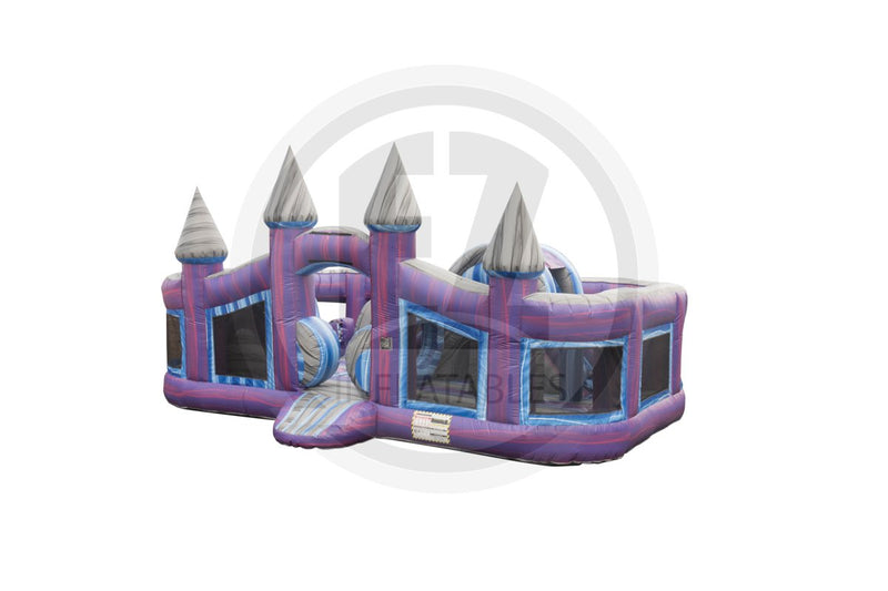 Magic Purple Castle Toddler-I1079-EZ Inflatables (1441225375786)