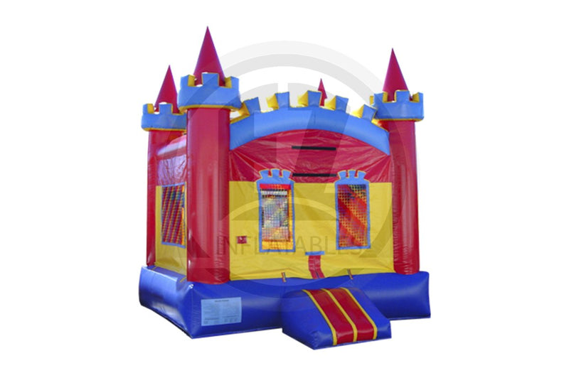 Medieval Castle Jumper-B199-EZ Inflatables (1384703098922)