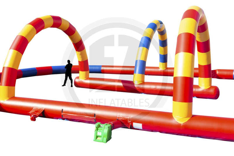 Primary Color Race Track-G313-EZ Inflatables (1387727683626)