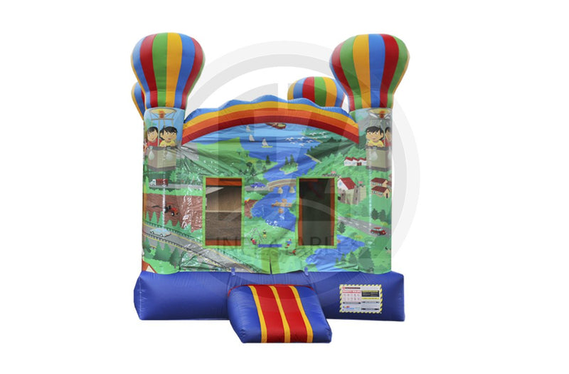 Printed Adventure Balloon Jumper-B1026-EZ Inflatables (1384704147498)
