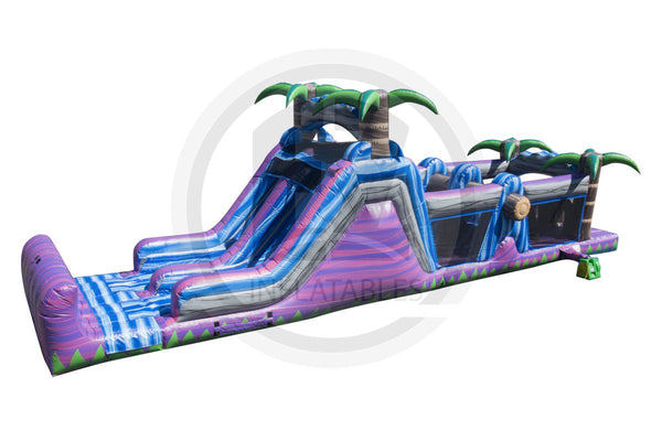Purple Crush Wet/Dry Obstacle Course-I1042-EZ Inflatables (1360787963946)