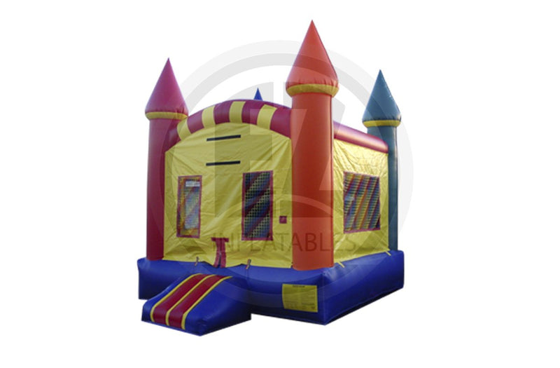 Rainbow Castle Jumper-B197-EZ Inflatables (1384704376874)