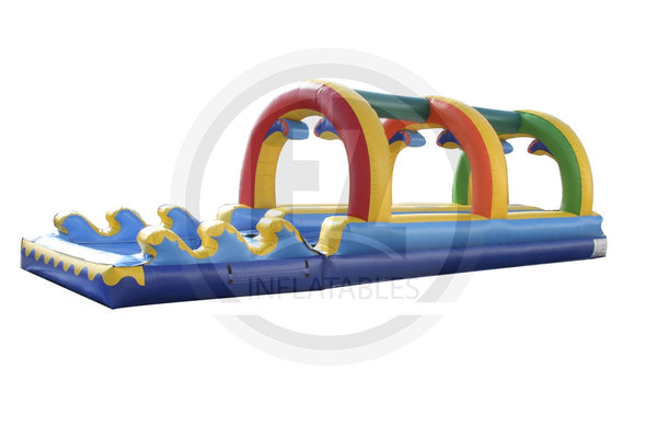 Rainbow Dual Lane Slip and Dip-SS130-EZ Inflatables (1351353204778)