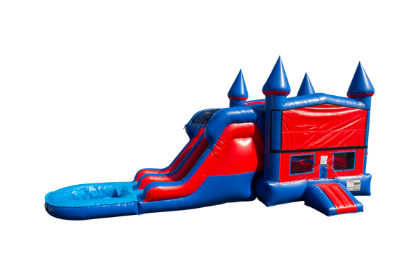 Red & Blue Module Combo-C1023-EZ Inflatables (1361255858218)