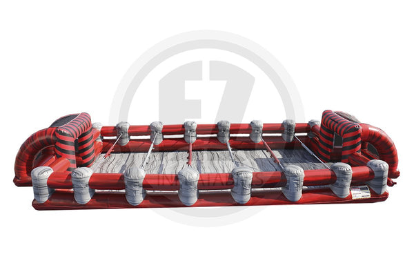 Red Marble Foosball-G1052-EZ Inflatables (1387732762666)