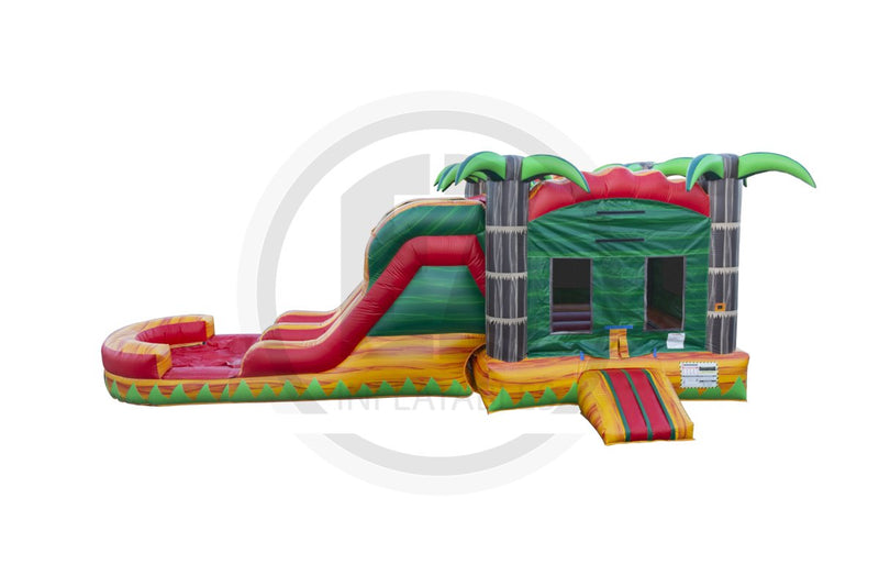 Tropical Fiesta Combo Inflated Pool (IP)-C1127-EZ Inflatables