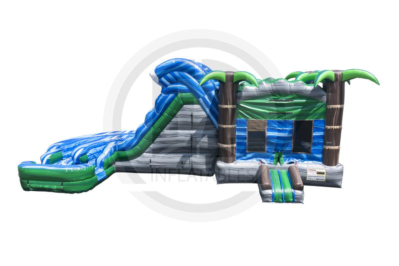 Tropical Rapids Combo-C1069-EZ Inflatables (1361264312362)
