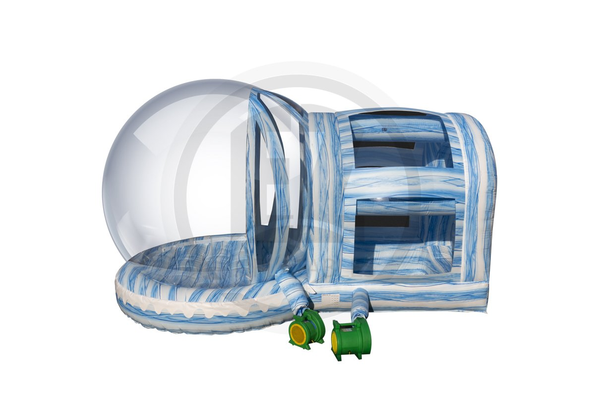 Winter Wonderland Snow Globe with Chamber-IB121