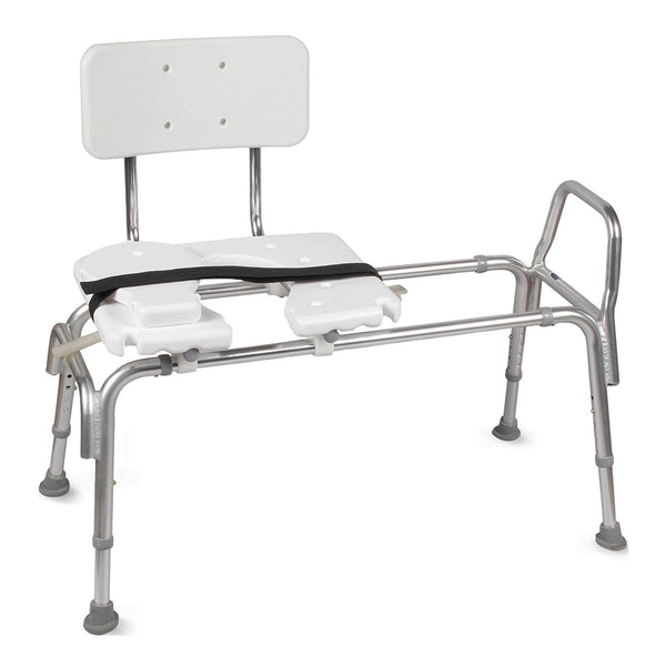 Heavy-Duty Sliding Transfer Bench
