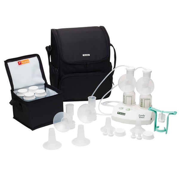 Purely Yours® Personal Double Electric Breast Pump with Tote