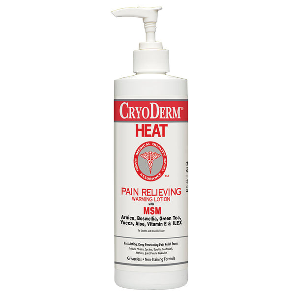 Pain Relieving Heat Therapy Lotion
