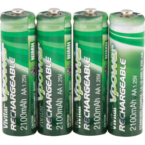 AA Rechargable 1.25 Volt NiMH Batteries