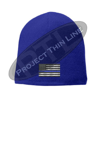 Thin BLUE Line Flag Slouch Hat