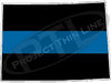 "5"" Colorado CO Thin Blue Line State Sticker Decal"