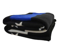 Thin Blue Line Polar Fleece Blanket