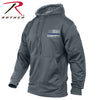 Rothco Thin Blue Line Concealed Carry Grey Hoodie