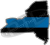 "5"" New York NY Thin Blue Line State Sticker Decal"