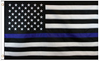 3' x 5' Embroidered USA Thin Blue Line Flag