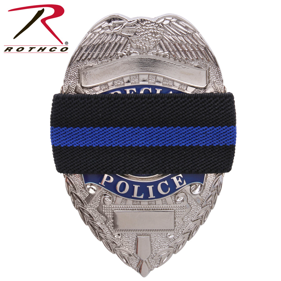 Rothco Thin Blue Line Mourning Band