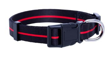 Thin Red Line K9 Firefighter Dog Collar