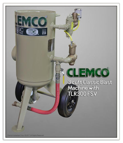 Clemco - 3.0 cu ft 1 1/4