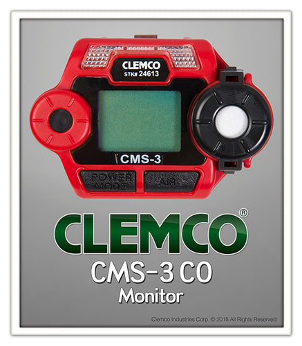 CMS-3 CO Monitor Only + Battery + Inside Hood Mount