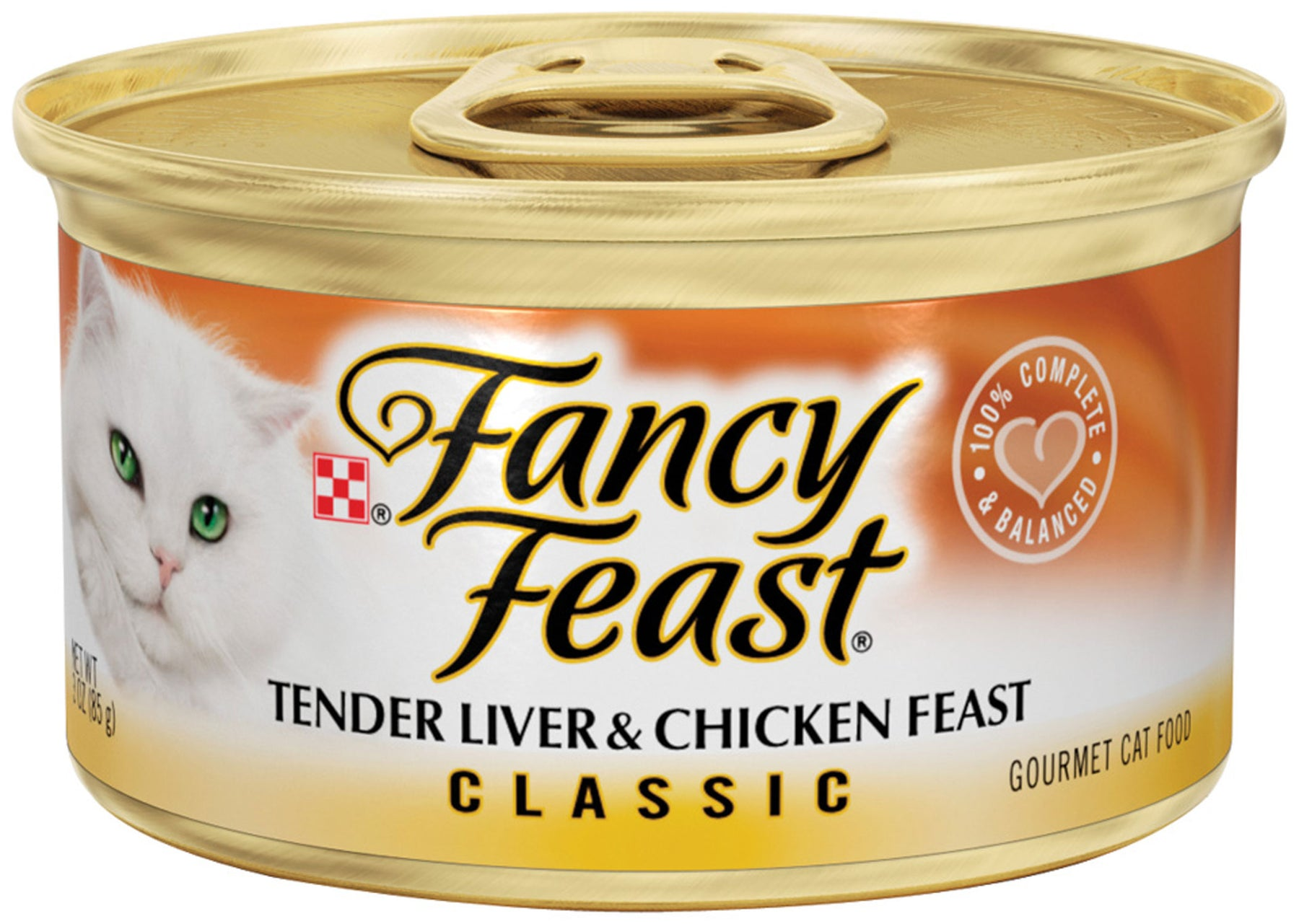 Fancy Feast Liver and Chicken Canned Cat Food
