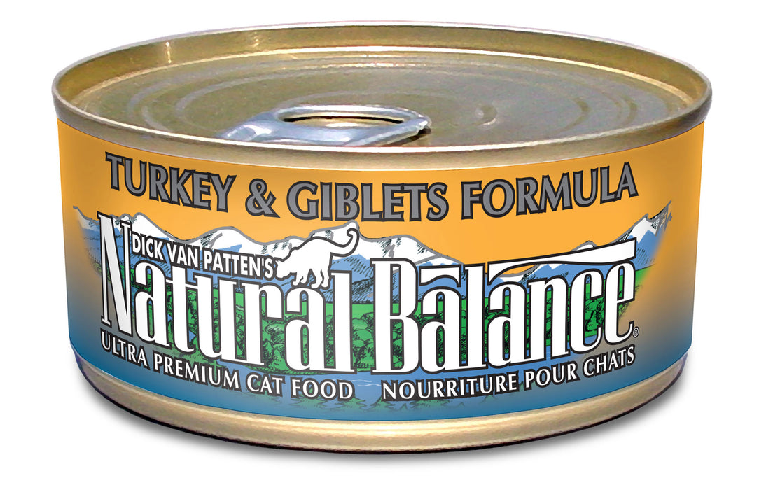 Natural Balance Turkey and Giblets Formula Canned Cat Food
