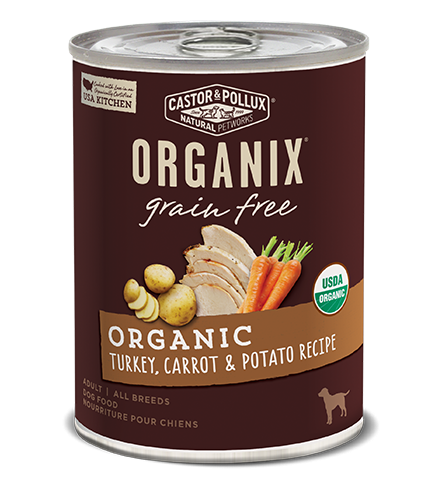 Castor and Pollux Organix Turkey Carrot & Potato Canned Dog Food