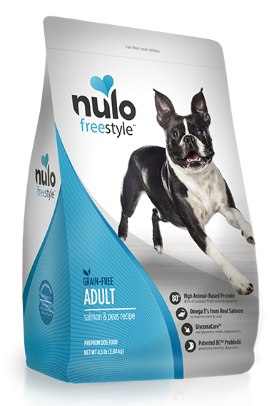 Nulo FreeStyle Grain Free Salmon and Peas Recipe Dry Dog Food