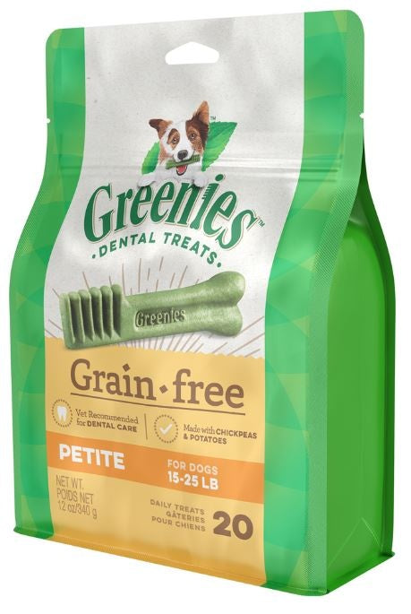 Greenies Petite Grain Free Dental Dog Chews